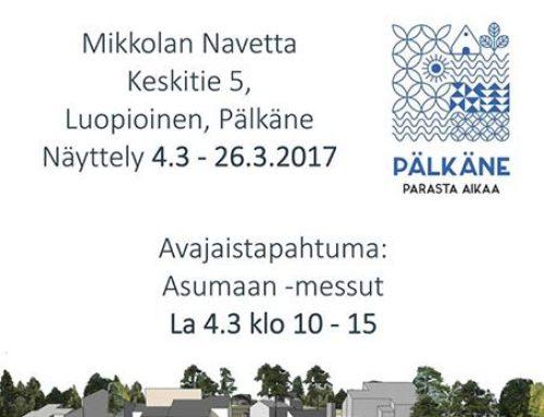 Design Pohjola mukana 4.3.–26.3.2017 Asumaan ‑messuilla! La 4.3. avajaispäivä!